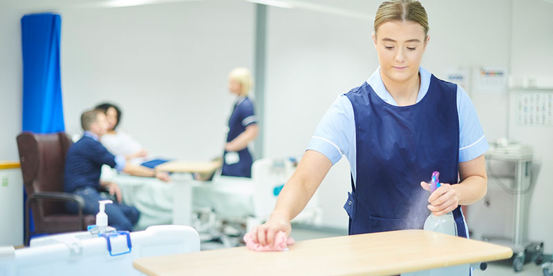 Medical facility cleaning services can handle your exam rooms