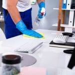 hire an office building cleaning company